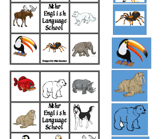 Bingo, Animals
