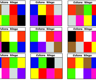 Color Bingo