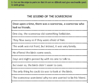 The Legend of the Scarecrow (Past Tenses Revision)