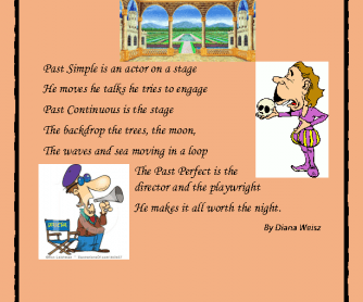 The Past Tenses Show Poem