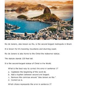 Daily Grammar: Rio de Janeiro