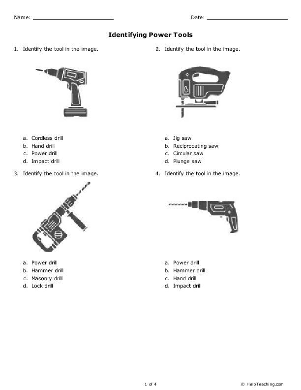 power tools names. power tools names