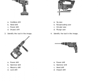 Identifying Power Tools