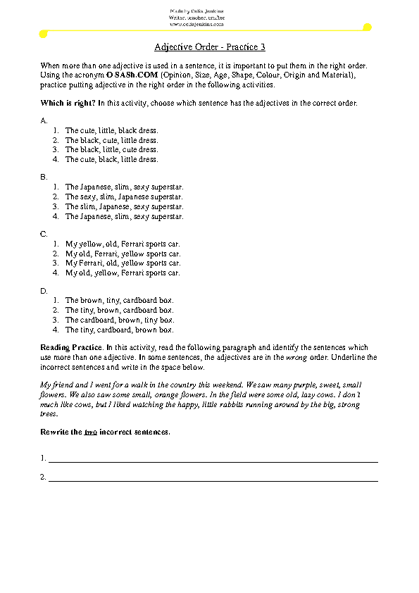 11239 FREE Grammar Worksheets – Basic Grammar Worksheets