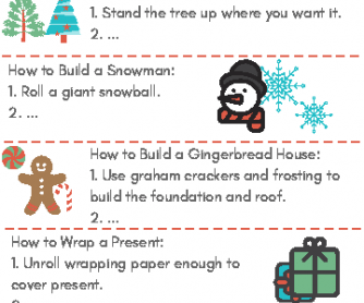 Christmas: How To Writing Prompts