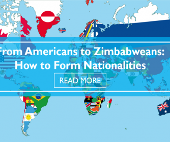 From Americans to Zimbabweans: How to Form Nationalities