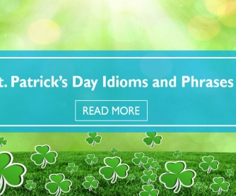 Saint Patrick's Day Idioms and Phrases