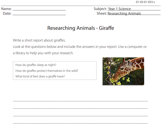 635 Free Animals Worksheets