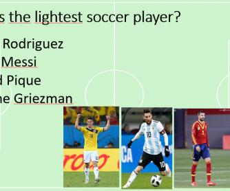 World Cup - Comparatives, Superlatives, Physical Appearance