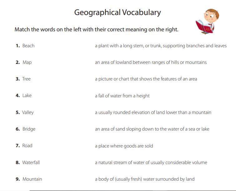 Гдз Match The Words On The Left With Their Meanings On The Right