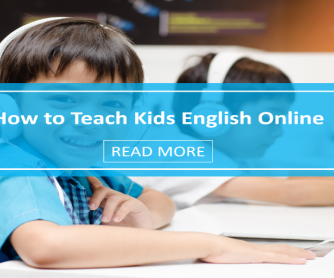How to Teach Kids English Online