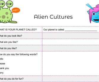 Alien Cultures Game - Modified Version