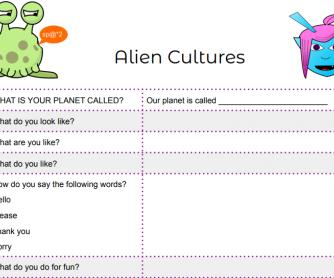 Alien Cultures Game - Modified Version