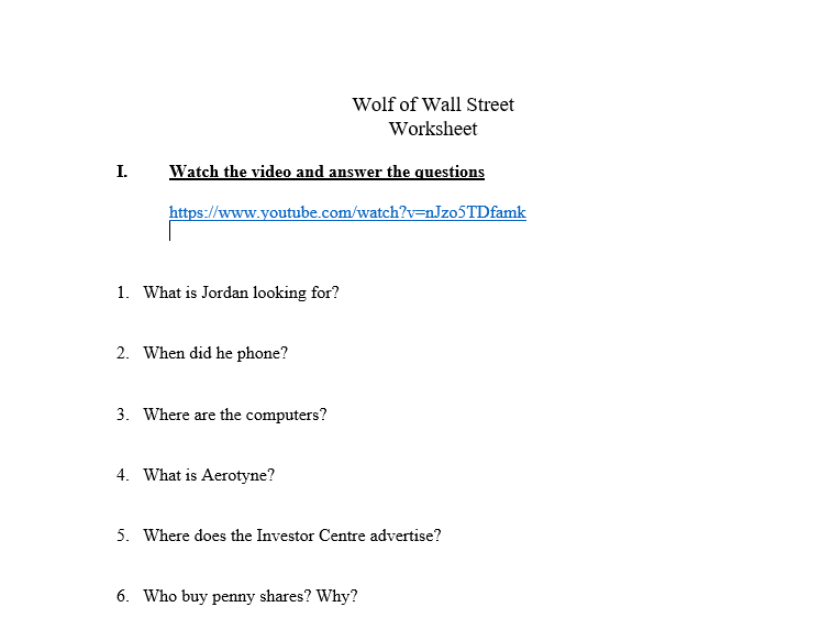 2950 Free Listening Worksheets