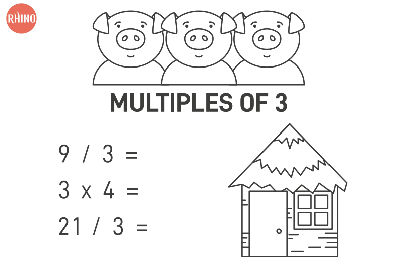 14321 free vocabulary worksheets the three little pigs multiples of 3 worksheet ibookread PDF