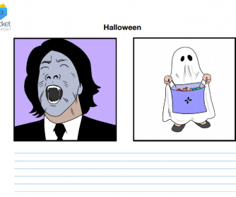 Halloween Storytelling Flashcard Prompts