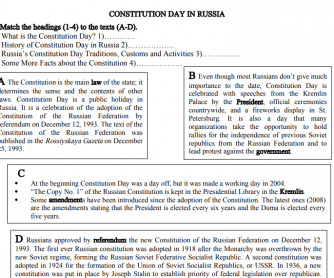 Constitution Day in Russia