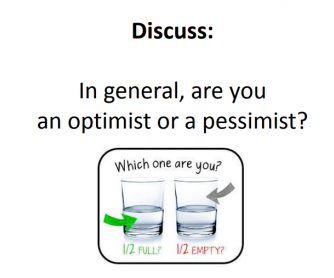 Optimist/Pessimist Debate PowerPoint
