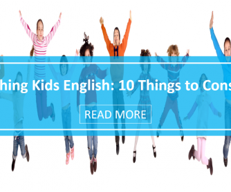 Teaching Kids English: 10 Things to Consider