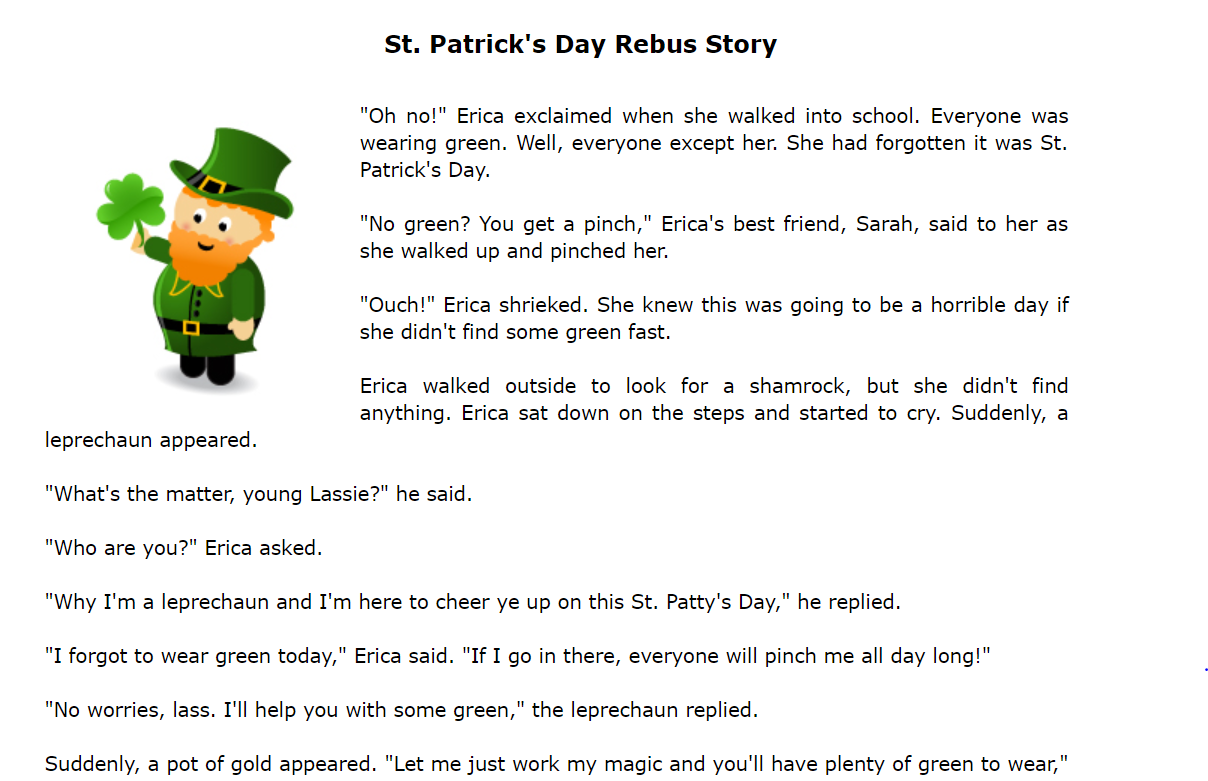 image regarding St Patrick Day Trivia Questions and Answers Printable identify 40 Totally free Saint Patricks Working day Worksheets