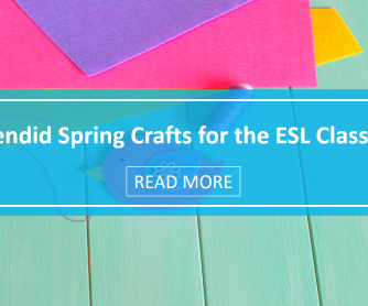6 Splendid Spring Crafts for the ESL Classroom
