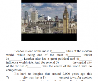History of London from Roman Times to Modern Days