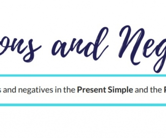 Questions and Negatives - Present Simple and Present Continuous