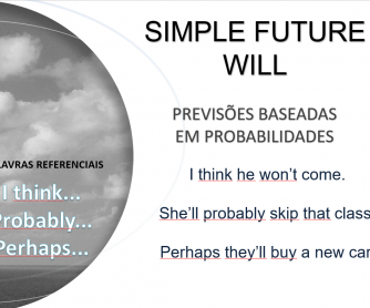 Future Tense PPT - English/Portugeuse
