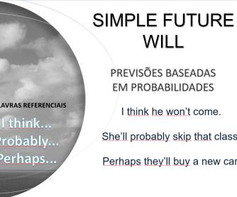 Future Tense PPT - English/Portugeuse