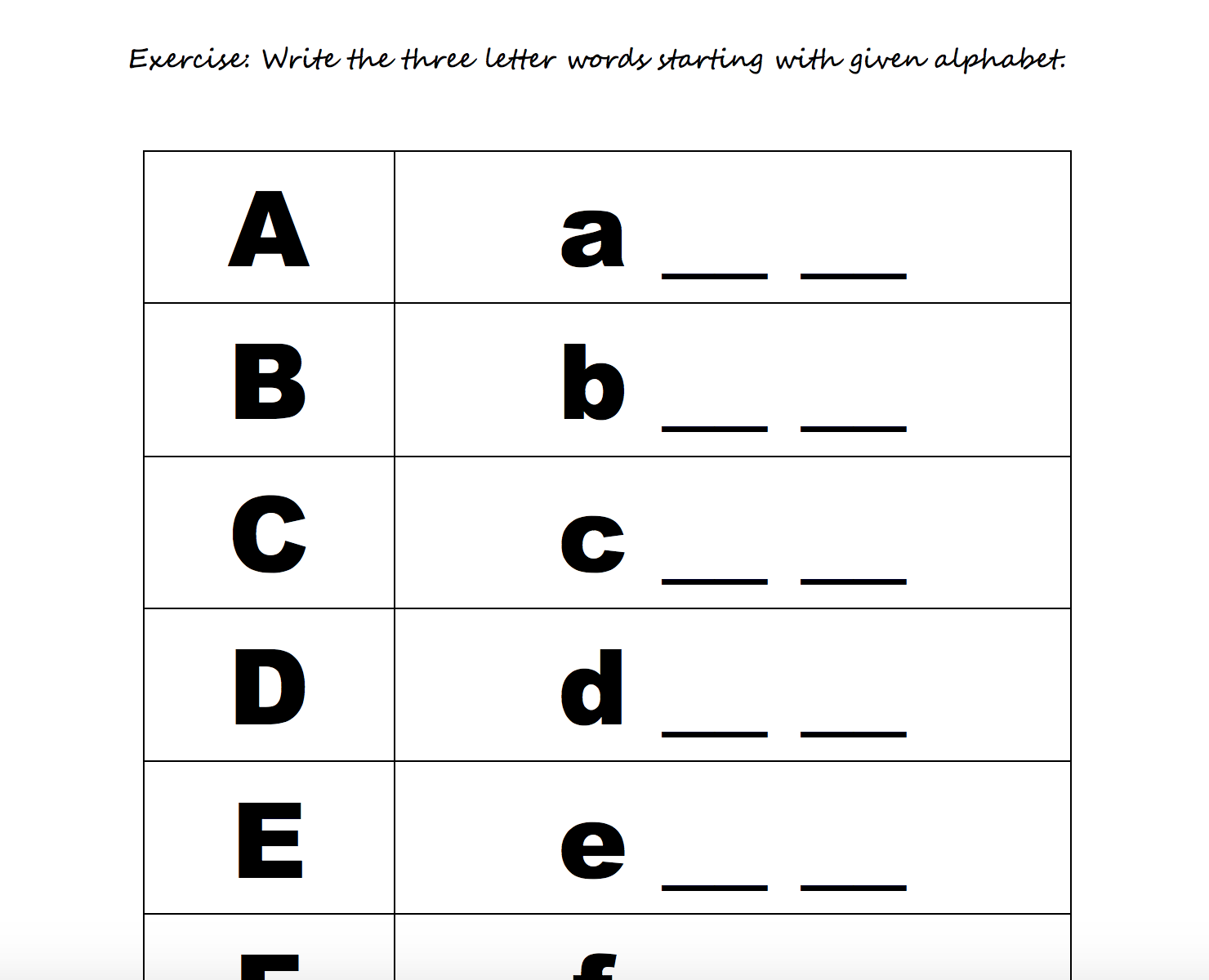 - 208 FREE Alphabet Worksheets