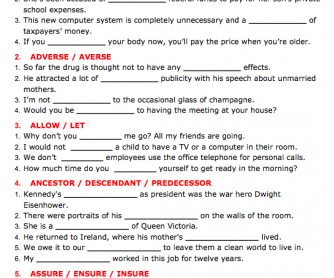 BusyTeacher: Free Printable Worksheets For Busy English Teachers