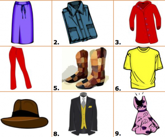 10 Clothes Activities - Matching, Analogies, Idioms and More