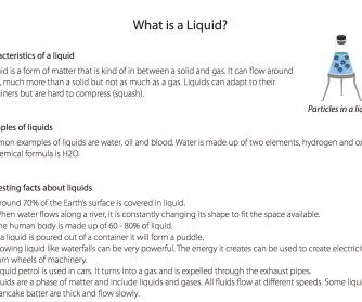 What Is A Liquid? (Science Resource)