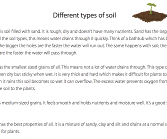 Different Types Of Soil (Science Resource)