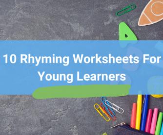 Top 10 Rhyming Worksheets