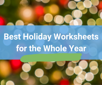 Best Holiday Worksheets for the Whole Year