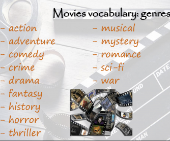 Movies Vocabulary - Genres