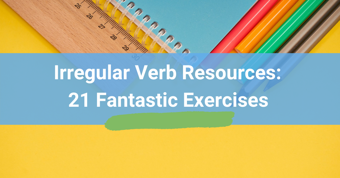 Irregular Verb Resources
