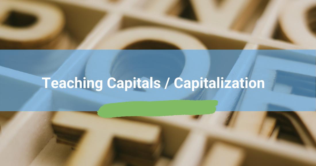 Teaching Capitals