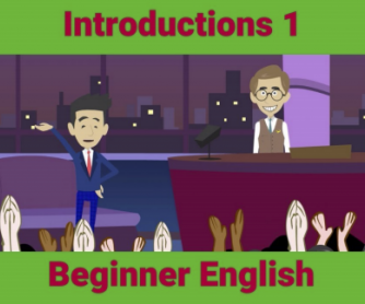 Introductions ESL Activity
