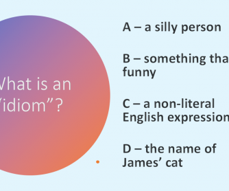 Idiom Quiz - 8 Common Idioms