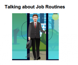 A Conversation about Work Routines