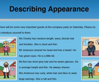 Describing Appearance