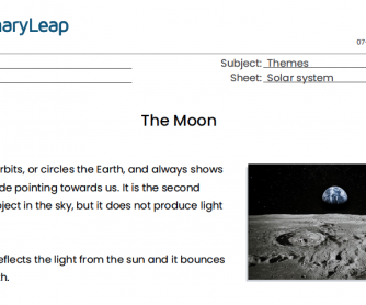 The Moon Reading Comprehension