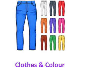 Learning about Clothes & Colour