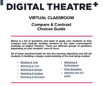 Virtual Classroom: Compare & Contrast – Choices Guide