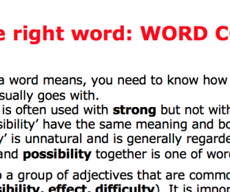 Adjectives: Choosing the Right Word