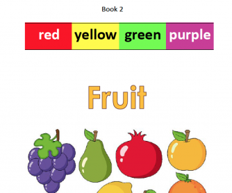 Reader – Language about color and fruit