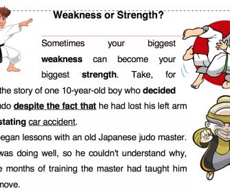 Reading: Weakness or strength?