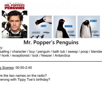 Mr. Popper's Penguins – Movie